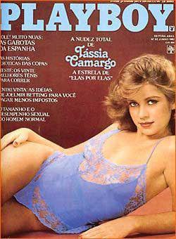 Confira as fotos da musa e atriz Tassia Camargo, capa da Playboy de junho de 1982!