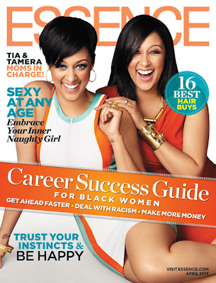 Tia and Tamera Mowry on Essence Magazine Cover