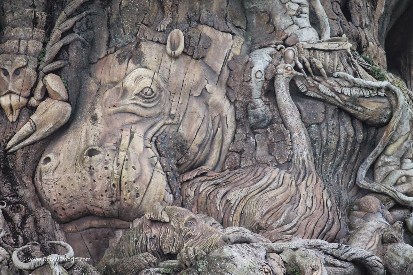 A Closer Look At The Tree Of Life At Disneys Animal Kingdom