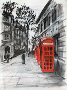 Commissioned London Paintings on Canvas