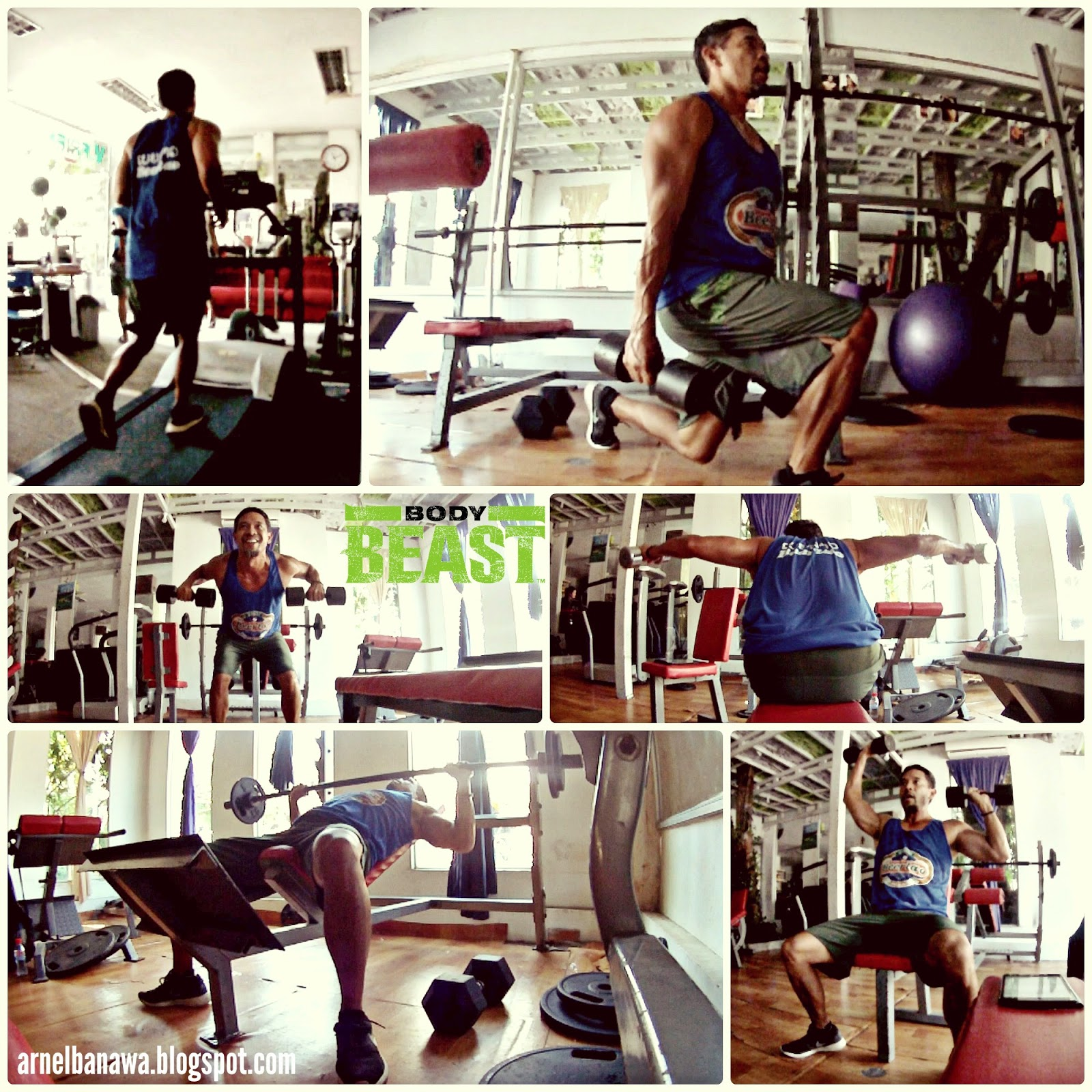 Gym in Phnom Penh, Cambodia - Body Beast Workout