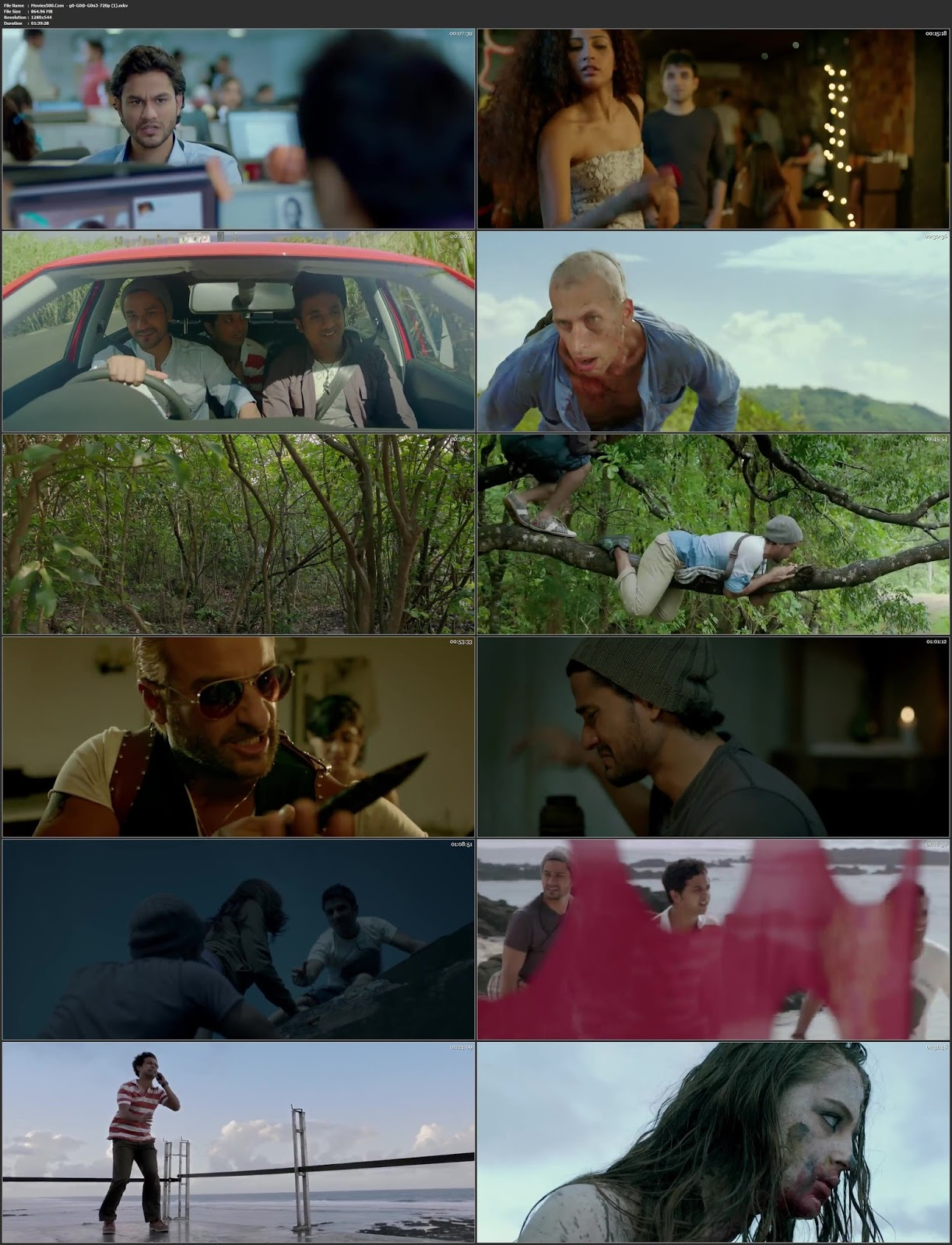 GO GOA GONE 2013 Bollywood 300MB HDRip 480p