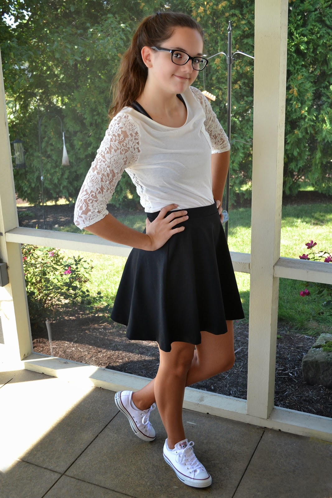 what skater skirt old navy lace tee target