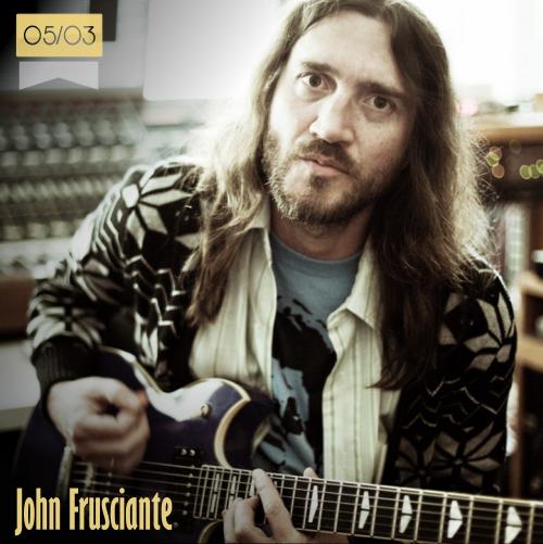 5 de marzo   John Frusciante - @JFruscianteSite   Info + vídeos