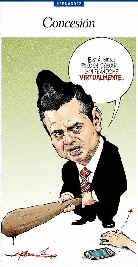 Caricaturas Enrique Peña Nieto