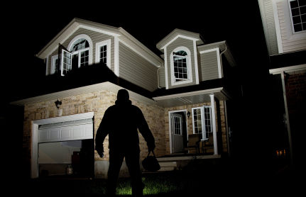 Men do innovations to keep the intruders out of their house