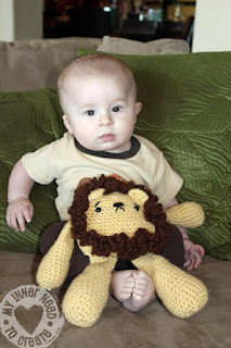 Crochet Plush Lion