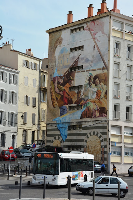 Marseille wall painting