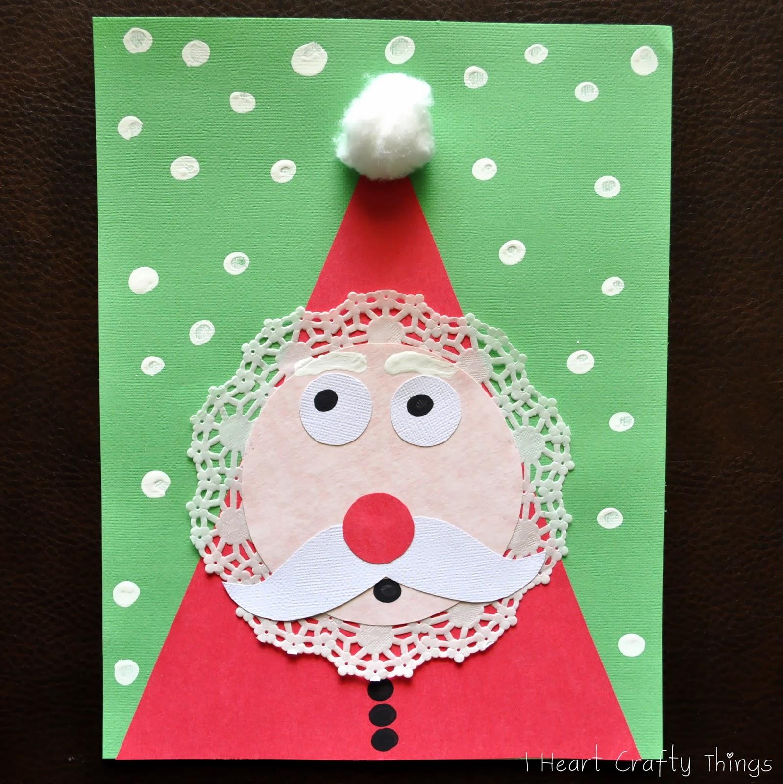 Как сделать новогоднего дед мороза из бумаги