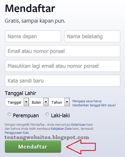 Bagaimana cara membuat akun facebook / Fb baru