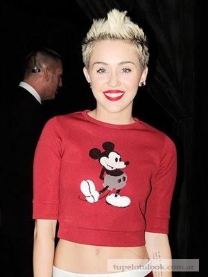 cambio de look Miley Cyrus