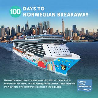 Norwegian Cruise Line's New Norwegian Breakaway - 100 Day Countdown