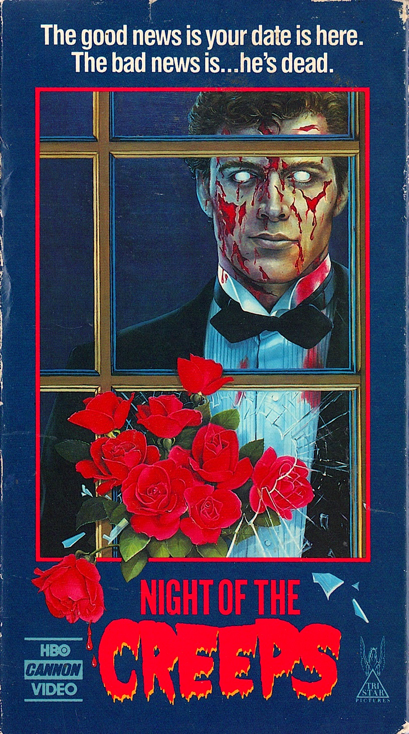 night of the creeps 1986 dinner amp a movie snaxtime