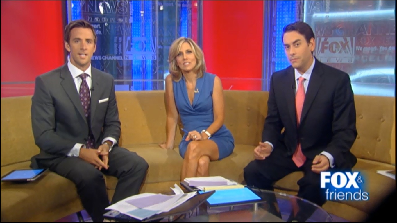 Week of aug good morning afternoon america and fox and friends caps