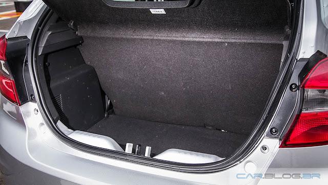 Ford Ka Hatch 2016 - porta-malas