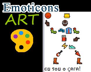 👇 Desenhos com Emoticons