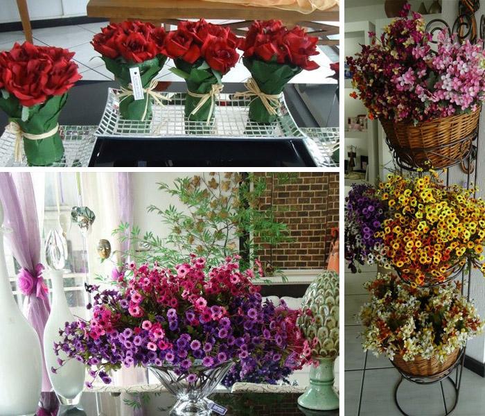 Com as flores conseguimos paletas de cores tão variadas que com certeza você pode inovar em seu ambiente, tente colocar as flores em lugares diversos e você pode se surpreender