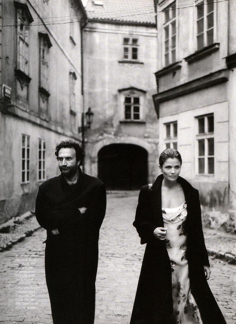 Marie Claire October 1997 (photography: Fabrizio Ferri & Helena Christensen; styling: Daniela Agnelli)