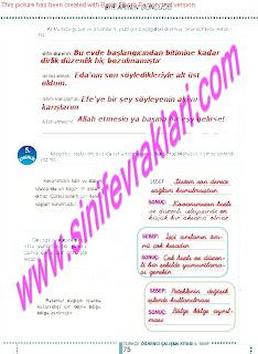 6.Sinif  Turkce Doku Yayinlari Ogrenci Calisma Kitabi Sayfa 75