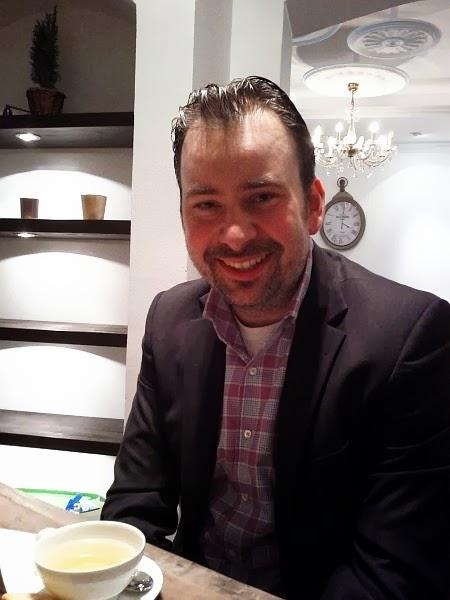 Ivo Hidschoff, Geschäftsführer und Initiator des Teesalons Time for Tea