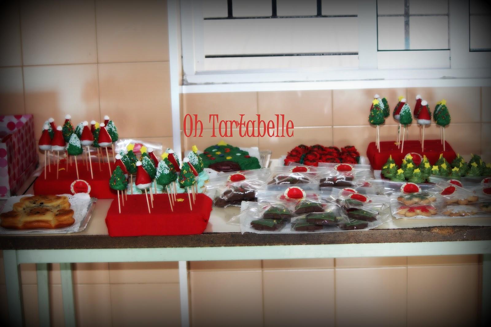 oh tartabelle mesa dulce para la funci n de navidad del