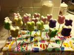 EASTER BUNNY BROWNIE POPS