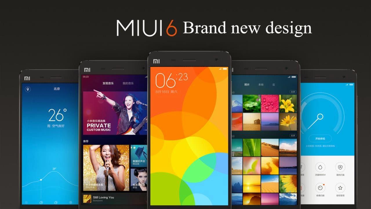Update Xiaomi MiUI Versi 6 Untuk Xiaomi Redmi 1S, Mi3, dan Redmi Note 4G