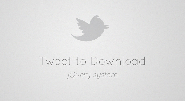 Free Making a Simple Tweet to Download System