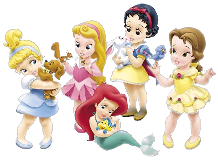 Princesas baby Disney png - Imagui