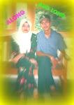 * along n her husband *