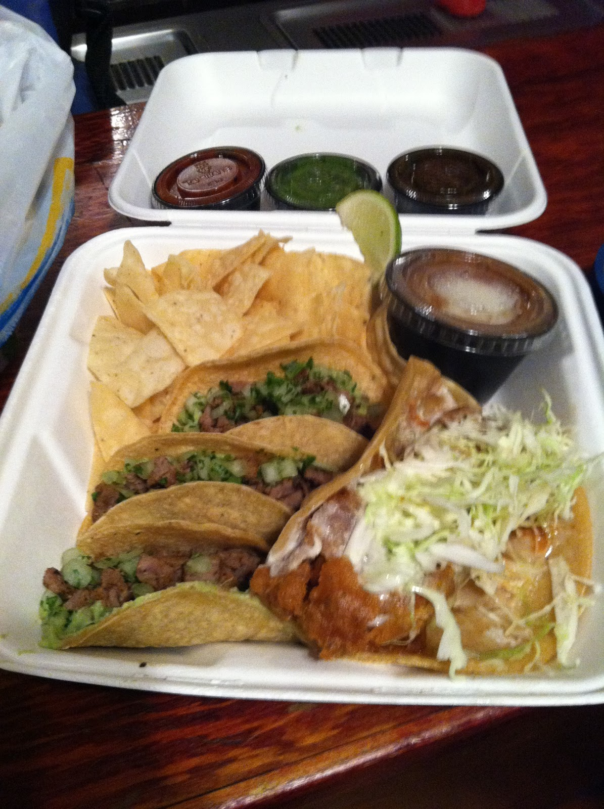Spicey not pricey 1 29 12 rubio 39 s steak street tacos and for Rubios fish tacos