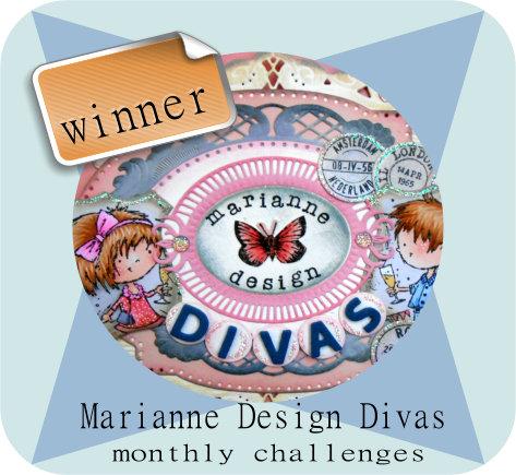 2ème prix Marianne Design Divas - 15 décembre 2015
