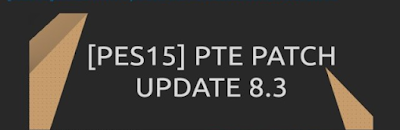 PES 2015 PTE PATCH 8.3 Season 2016
