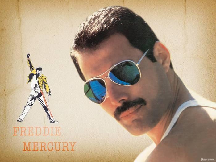 Farrokh Bulsara — Freddie Mercury