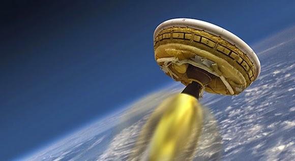 NASA Siap Luncurkan Piring Terbang ke Planet Mars