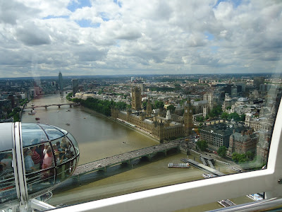 Westminster skyline from the London Eye