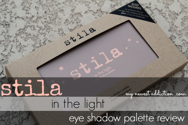 Stila Cosmetics In The Light Eye Shadow Palette beauty makeup gorgeous matte shimmer Kitten swatch swatches