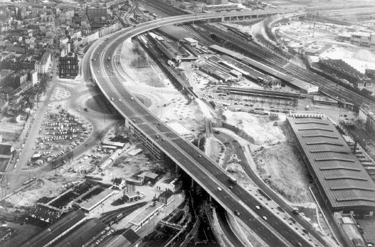 1960 la construction du p riph rique paris unplugged - Porte peripherique paris ...