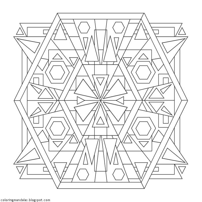 Coloring Mandalas 57 Sanctuary