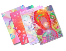 New Energy Art Postcards