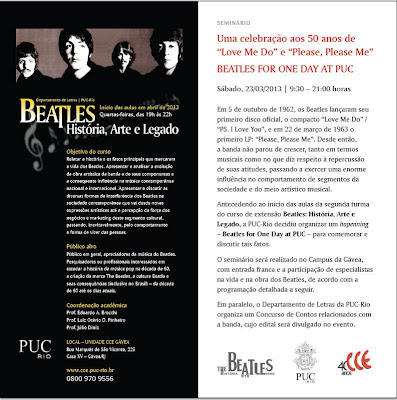 Beatles For One Day At PUC-RJ