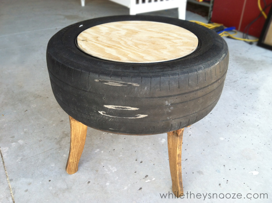 - Trendy Tire Table :{While They Snooze} - East Coast Creative Blog