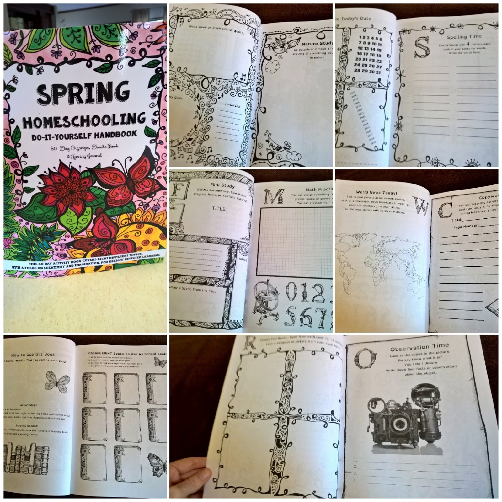 Its a good full do it yourself homeschool journals we have over 20 homeschooling journals to choose from start with your childs favorite cover all the books are a little different on the inside so you can solutioingenieria Choice Image