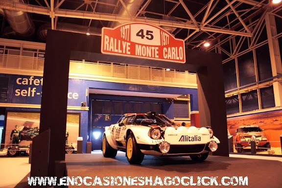 Lancia stratos rallyes en Madrid Motor Days