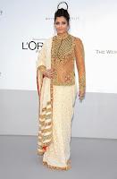 Aishwarya Rai traditional look at cannes 2012