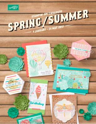 Stampin' Up! Spring / Summer 2017 Catalogue