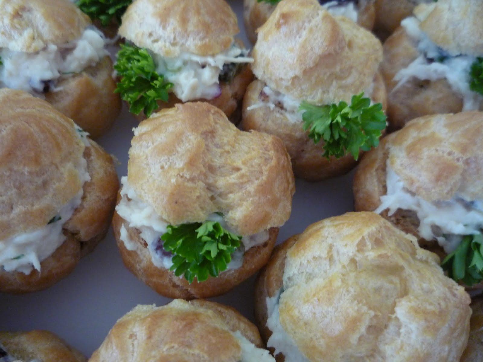 The Quail's Nest: Savory Mini Cream Puffs