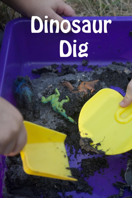 Dino Dig - Dinosaur Games