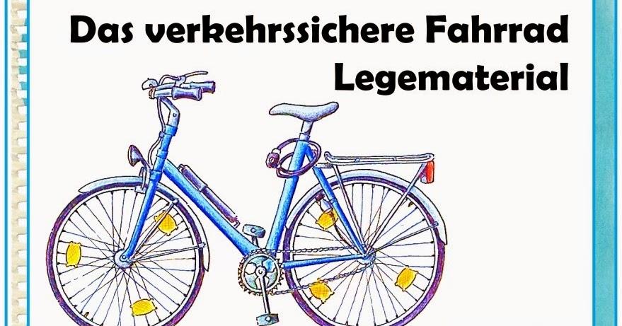 Ideenreise: Legematerial u0026quot;Das verkehrssichere Fahrrad ...