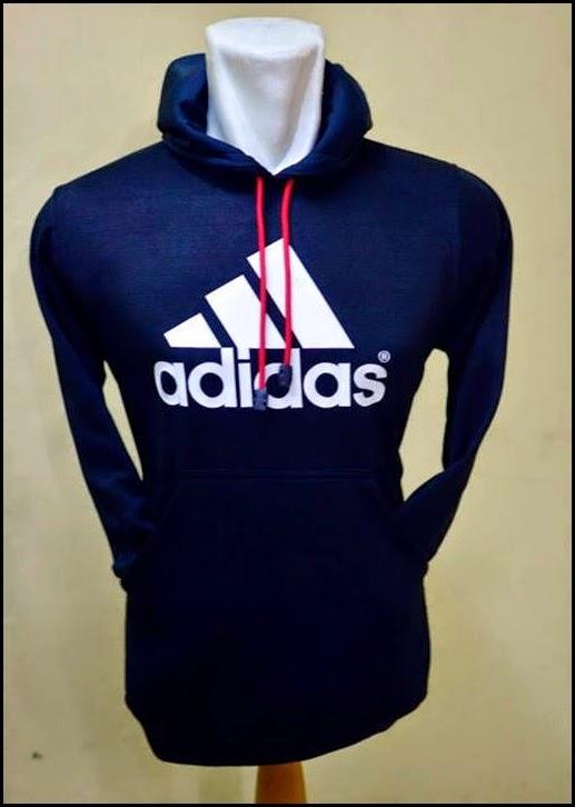 Jumper Hoodie Bola Polos (Satu Warna) - Adidas